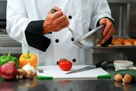 A great chef is extremely organized and prepared with only the necessary tools and ingredients that he or she needs for that specific dish.